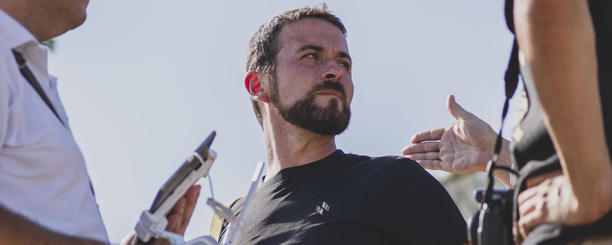 Alberto Enrique Pons. Director de cine español nacido en Málaga